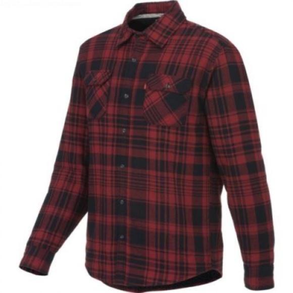 7711e41948 Levi s Men s Thornton Sherpa Flannel Shirt Sz M